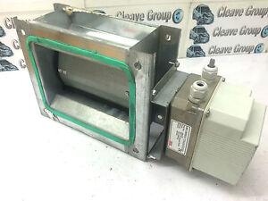 Cmr Ahu Hvac Variable Air Duct Damper With Motor Ast 21 Ebay