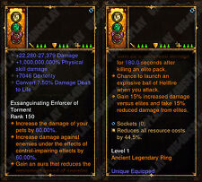 Diablo 3 RoS XBOX ONE [SOFTCORE] - New 2.6 Modded Ring - 1,000,000,000% Damage