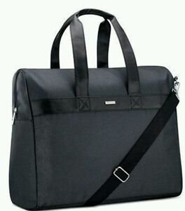 6bd5a5d8fa8 Image is loading Giorgio-Armani-Parfums-Duffle-Black-Bag-Weekender-Travel-