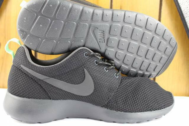 Nike Nike Nike Rosherun Negro Antracita Mujer Talla  11.0 Nuevas Correr Cómodo  los últimos modelos