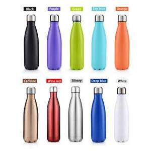 750ml-Sports-Stainless-Steel-Vacuum-Insulated-Water-Bottle-Drink-Flask-Thermoses