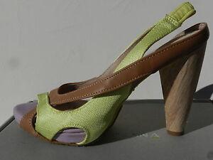 Chaussures Femme 38 Escarpins Terra Plana Grace Sandales Vivo Barefoot UK5 Neuf