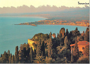 CARTOLINA-SICILIA-SICILY-POSTCARD-GIARDINI-NAXOS-BAIA-DI-GIARDINI-NAXOS