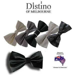 MENS-BOW-TIE-Pre-tied-Bowties-for-Wedding-Formal-Tuxedo-Men-039-s-Pretied