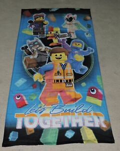 Details About 2019 The Lego Movie 2 Let S Build Together Beach Towel