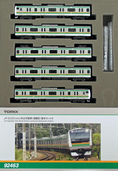 Tomix 92463 Jr serie E233-3000 (versión mejorada de implementación) 5 coches (escala N)