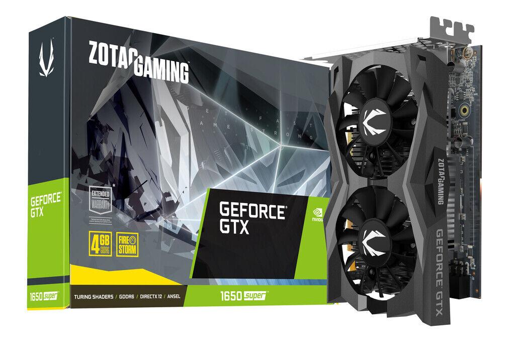 ZOTAC Gaming GeForce® GTX 1650 SUPER Twin Fan Graphics Card