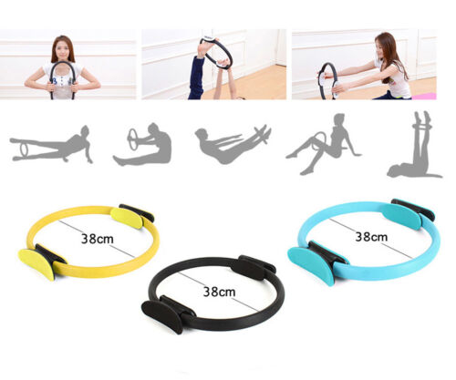 Superior Unbreakable Fitness Magic Circle Pilates Ring for Toning Thighs Abs Leg