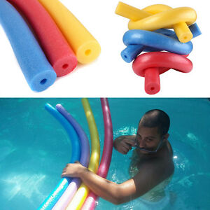 Fun swimming swim pool noodle water float aid woggle for Flotadores para piscina