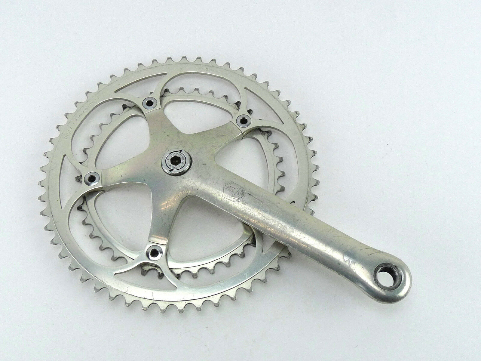 Campagnolo C Record First generation Crankset RIGHT ARM 172.5mm 53 39 Engraved