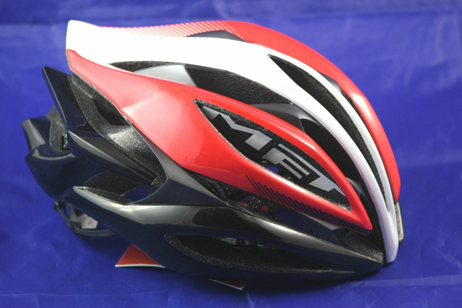 CASCO Met Pro Race Sine Thesis M 5457cm rosso anno 2014
