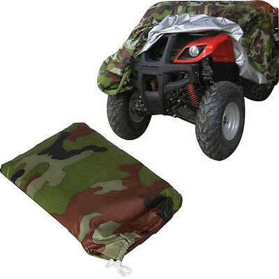 XL Camo ATV Quad Cover Fit For Honda Rancher TRX 350 400 420 FE FM TE TM