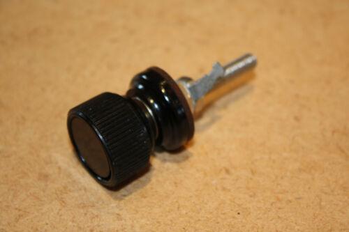 PANEL TERMINAL BINDING POST -VE  BLACK 30A RS PART No. 444-781