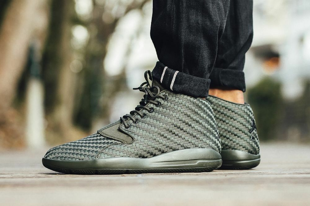 Nike Air Jordan ECLIPSE CHUKKA Cargo Olive Green Sequoia Carbon Fiber Shoes Sz 9 best-selling model of the brand
