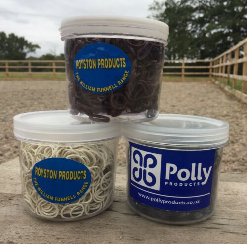 PLAITING BANDS BROWN POTS OR BAGS WILLIAM FUNNELL BRAND WHITE BLACK