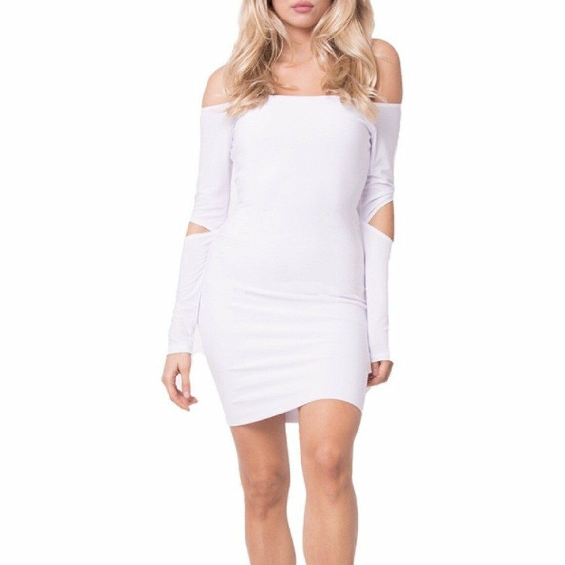 The Ky Mini Dress White