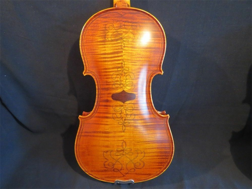 Hand made SONG excellent maestro inlab & carving 5 strings 4 4 violine