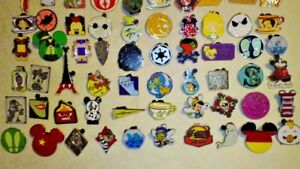 Disney-Trading-Pin-25-lot-HM-RACK-LE-CAST-no-duplicates-Fast-Ship-100-tradable