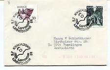 1983 LINNEDAGAR ITER LAPPONICUM Kvikkjokk Sverige Polar Antarctic Cover