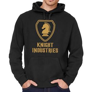 KNIGHT-INDUSTRIES-Rider-Michael-Hasselhoff-80s-Kapuzenpullover-Hoodie-Sweatshirt