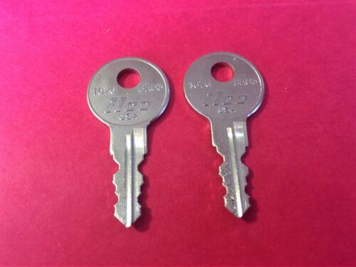 2 Undercover Truck Cap Keys Code Cut 200R TO 249R Jason Camper Cover Topper Key