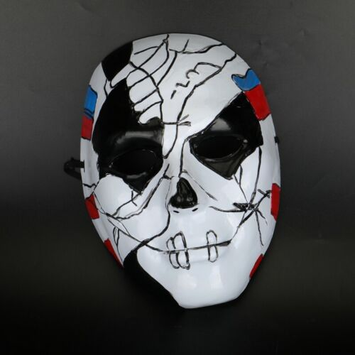 Punisher Billy Russo Mask Jigsaw Scary PVC Mask Cosplay Halloween Party Props