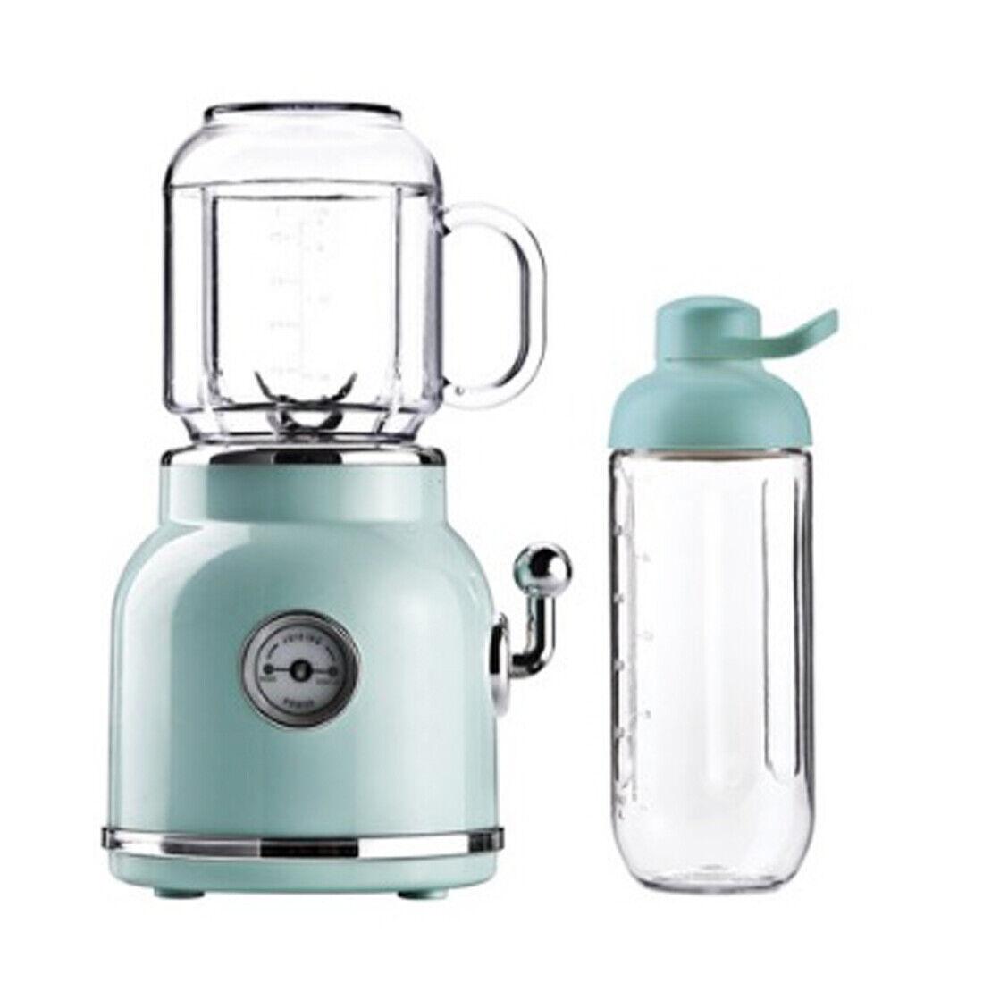 Cuisine Fleur Rétro Mini Blender Tritan BPA BPA Free Jar Smoothie Glace Crush Ble