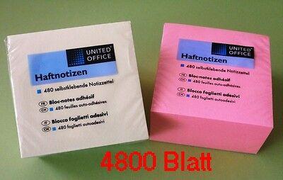 1X Haftnotizen Notis Notizzettel Zettel Notizbloecke 140 Blatt Rot Apfel Ob W9W9