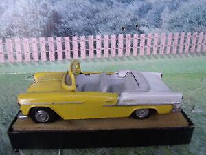 1 43 auto replicas england 1955 chevrolet handmade white for Replica mobel england