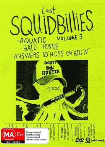 1 of 1 - Squidbillies: Volume (Vol) 3 - (DVD) New/Sealed!