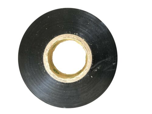 Black,3//4 in x 60 ft BYBON Vinyl Electrical Tape UL-Listed, 2-Roll