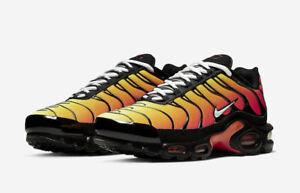 Nike Men's Air Max Plus Tiger Black White Pure Platinum