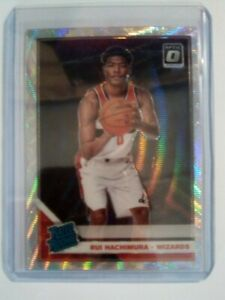 Rui Hachimura Prizm Wave Optic Rated Rookie Washington Wizards RC 2019-20