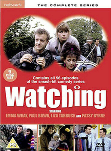 WATCHING - THE COMPETE SERIES DVD [UK] NEW DVD