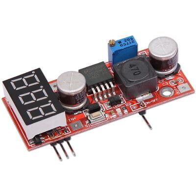 LM2596 DC 4.5-28V to 1.3-25V Step-Down-Schaltregler Power Converter + Voltmeter