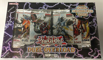 3 YuGiOh Duel Overload 1st Edition Booster Packs 100 LaTCG Clear Soft Sleeves