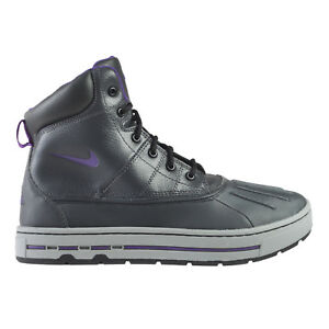 d491dccaf56d Details about Nike Woodside Big Kids 415077-002 Anthracite Grey Purple ACG  Boots Size 7