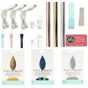 Foil-Quill-All-In-One-Bundle-3-Foil-Sets-3-Quills-Adapters-Foil-Rolls-More