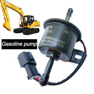 1,2A 12V Universal Kraftstoffpumpe Benzinpumpe elektrisch Benzin Baumaschinen