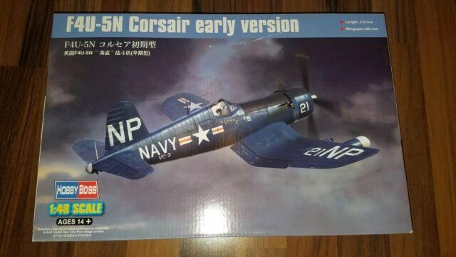 F4U-5N Corsair im Maßstab 1:48 von Hobby Boss (Art.-Nr. 80389)