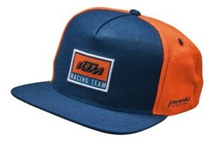 KTM-Replica-Team-Blue-Orange-Cotton-Cap-Baseball-Hat-New