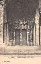 BR72188 provins portal de l eglise de st loup de naud france