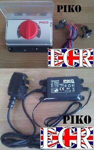 PIKO-G-SCALE-ANALOGUE-TRAIN-LOCO-CONTROLLER-22V-1-6A-amp-UK-PLUG-POWER-TRANSFORMER