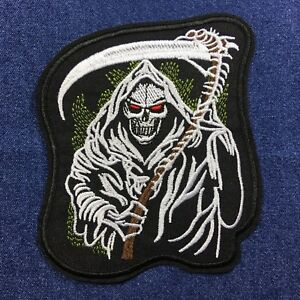 Death-Grim-Reaper-Squelette-Taille-Moyenne-Patch-Brode-Repasser-a-Coudre