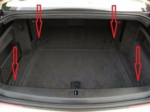 Trunk Floor Style Cargo Net For AUDI A8 S8 A8L A8 QUATTRO 1997-2017 BRAND NEW