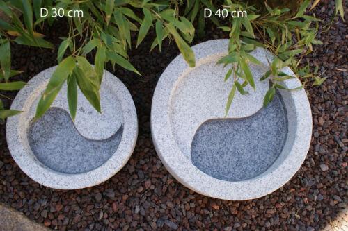 Yin Yang Wasserbecken Feng Shui Becken Garten Koi D40cm