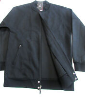 Jordan Black/black Air Jordan The Varsity Jacket-new