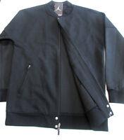 Jordan Black/black Air Jordan The Varsity Jacket-new