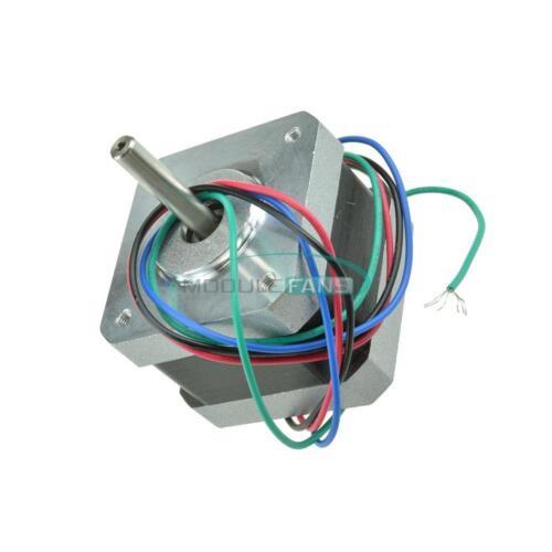 NEMA17//42BYGHW208 Stepper Motor 36oz-in// 2600g//cm 3D Printer RepRap Medel Prusa