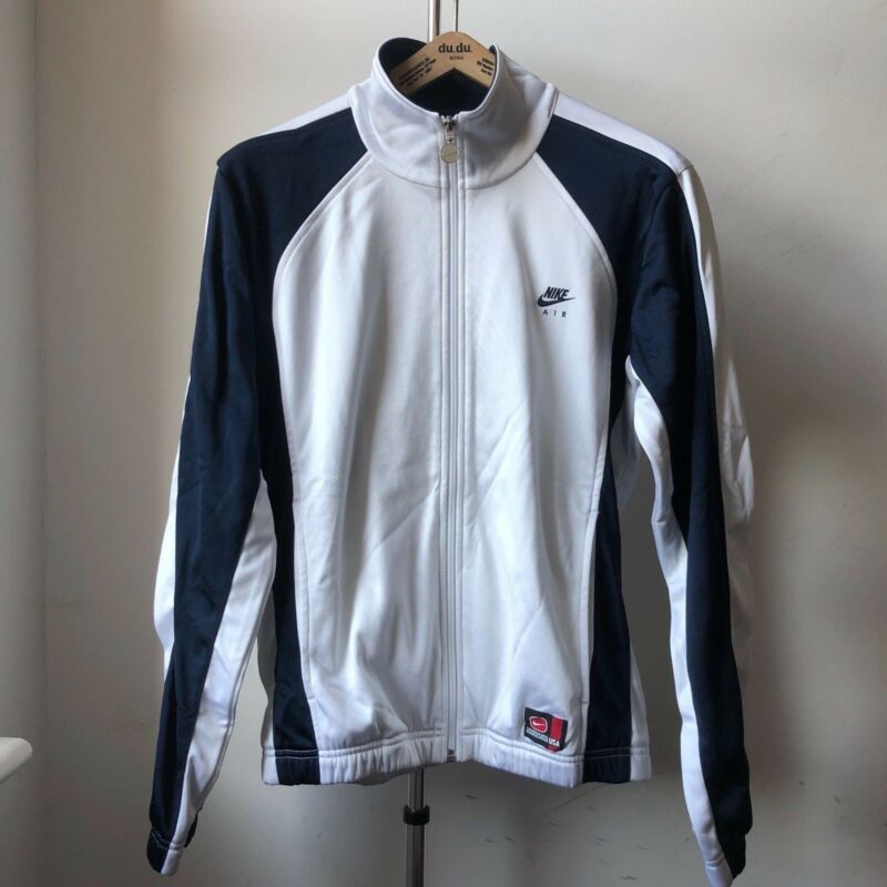 Molto Cool Nike Europa Track Jacket 100% Poliestere Made In Thailand Sz S